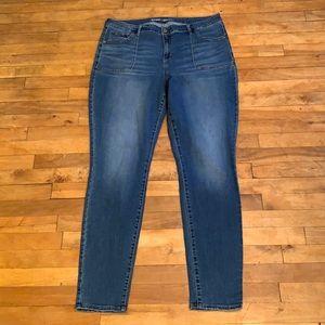 4/$40 - OLD NAVY Rockstar Mid-Rise Skinny Jeans 20